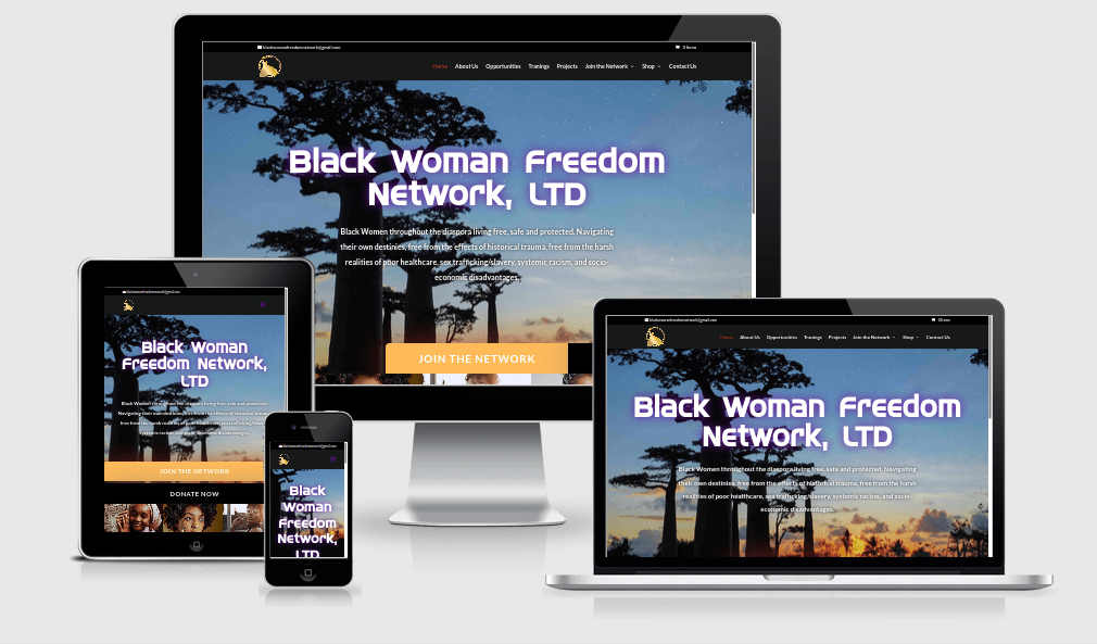 black woman freedom network